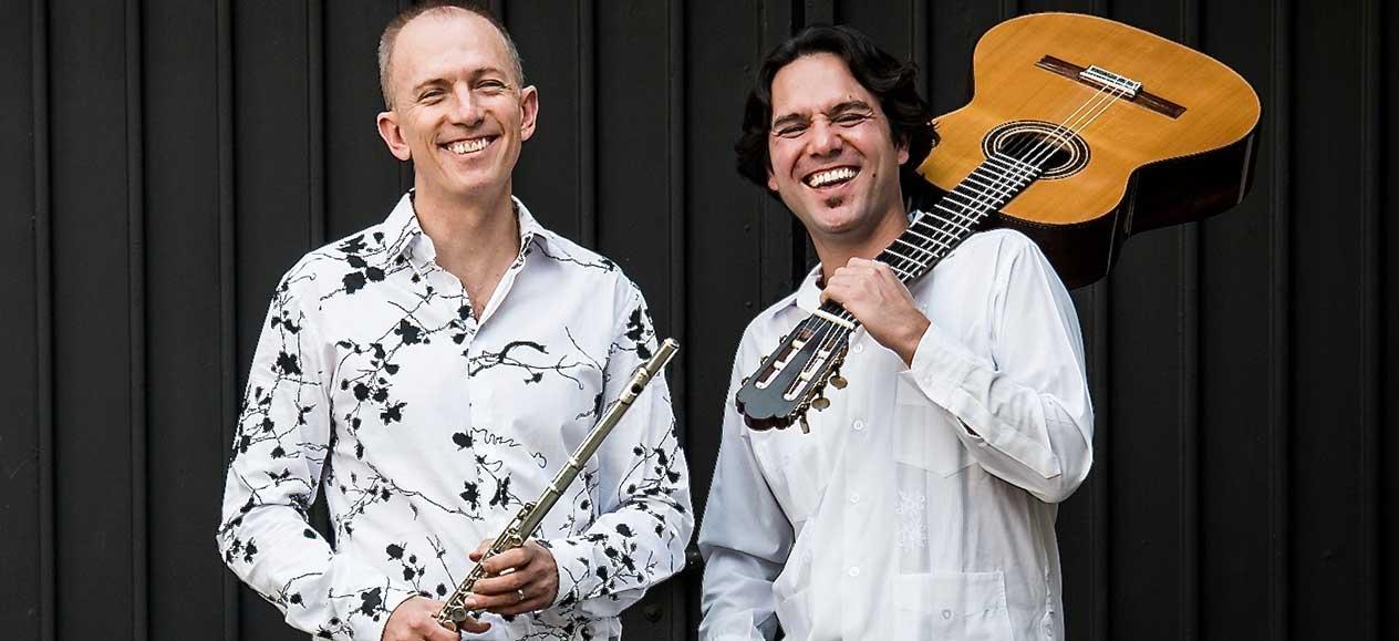 Alejandro Escuer y Morgan Szymansky crean dúo para flauta y guitarra